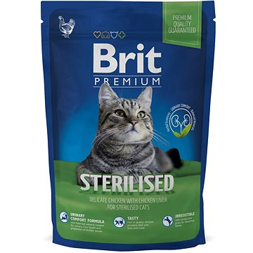 Brit Premium Cat Sterilised 800 g (8595602513154)