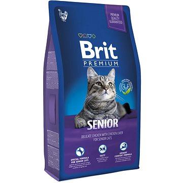 Brit Premium Cat Senior 8 kg (8595602513338)