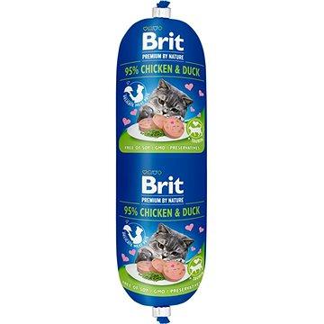 Brit Premium by Nature Sausage CAT Chicken & Duck 180 g (8595602532704)