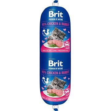 Brit Premium by Nature Sausage CAT Chicken & Rabbit 180 g (8595602532728)