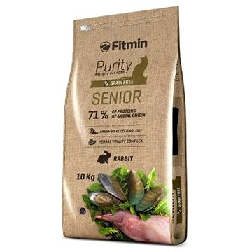 Fitmin cat Purity Senior – 10 kg (8595237013500)