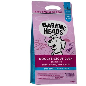 Barking Heads Doggylicious Duck (Small Breed) 1,5kg (5060189110827)