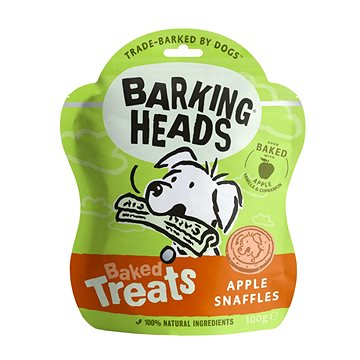Barking Heads Baked Treats Apple Snaffles 100 g (5060189114436)