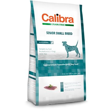 Calibra Dog GF Senior Small Breed Duck 2 kg (8594062082798)