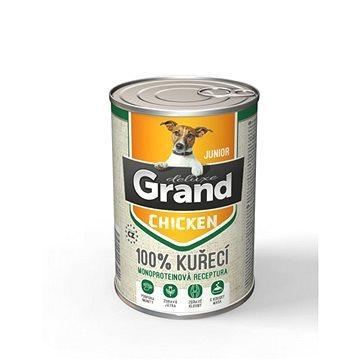 Grand deluxe 100% kuřecí Junior 400 g (8594029443457)