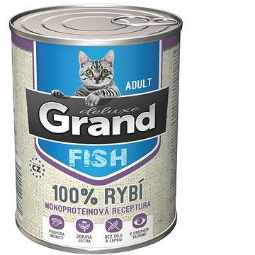 Grand deluxe 100% RYBÍ pro kočku 400 g (8594029443761)