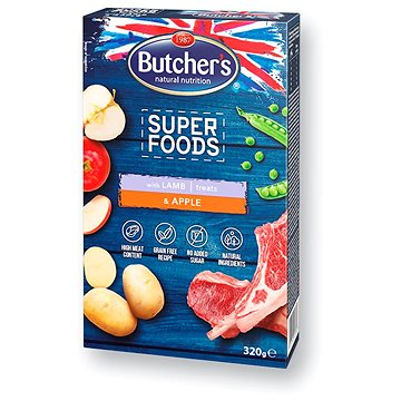 Butcher´s superfoods Grain Free Lamb & Apple 320 g (5011792006083)