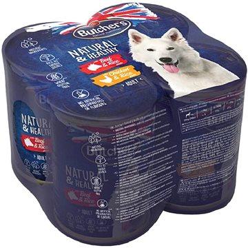 Butcher's Natural & Healthy Dog 4 × 390 g (5011792005871)