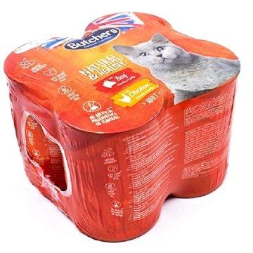 Butcher's Natural & Healthy Cat 4 × 400 g (5011792005888)