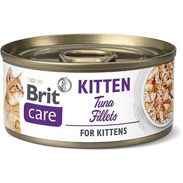 Brit Care Cat Kitten Tuna Fillets 70 g (8595602545544)