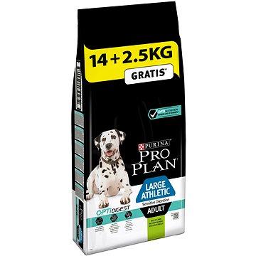 Pro Plan large athletic adult optidigest s jehněčím 14 kg + 2,5 kg (7613035414419)