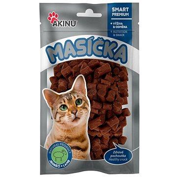 Akinu Jehněčí kousky pro kočky 50 g (8595184937454)