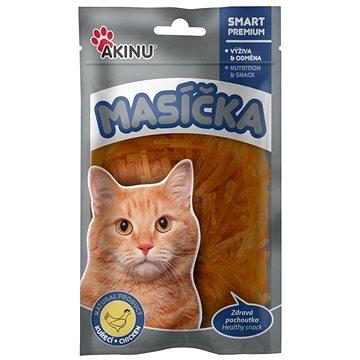Akinu Kuřecí řezanky pro kočky 50 g (8595184947927)