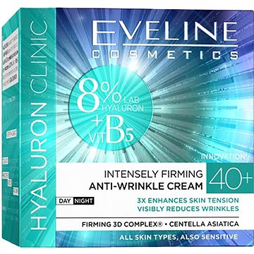 EVELINE COSMETICS Hyaluron Clinic Day And Night Cream 40+ 50 ml (5907609336156)