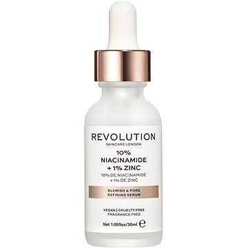 REVOLUTION SKINCARE Blemish and Pore Refining Serum - 10% Niacinamide + 1% Zinc 30 ml (5057566048507)
