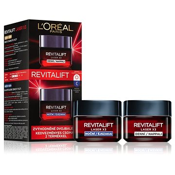 ĽORÉAL PARIS Revitalift Laser X3 Duopack 2× 50 ml (8592807224496)