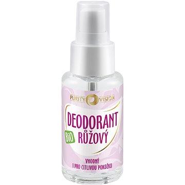 PURITY VISION Deodorant Růžový Bio 50 ml (8595572901302)