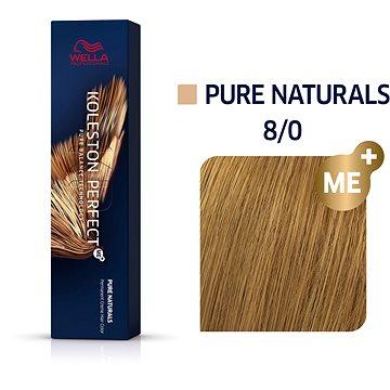 WELLA PROFESSIONALS Koleston Perfect Pure Naturals 8/0 (60 ml) (8005610663203)