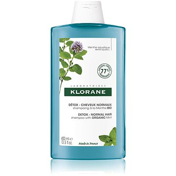 KLORANE Šampon s BIO mátou vodní 400 ml (3282770144871)