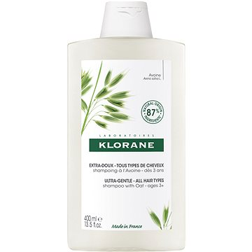KLORANE Šampon s ovsem ultra jemný 400 ml (3282770145373)