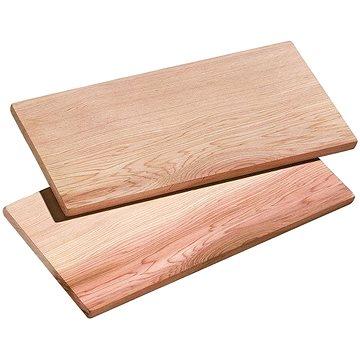 Küchenprofi Sada 2 ks dřevěných prkének L SMOKY 40x15x1 cm (1066571002)