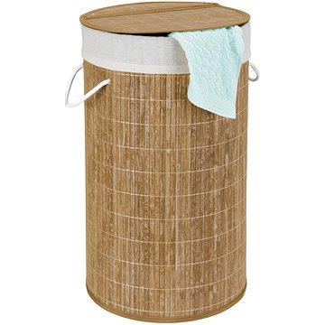 WENKO BAMBOO - Koš na prádlo, béžový (Z17753100)