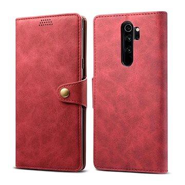 Lenuo Leather pro Xiaomi Redmi Note 8 Pro, červená (470766)