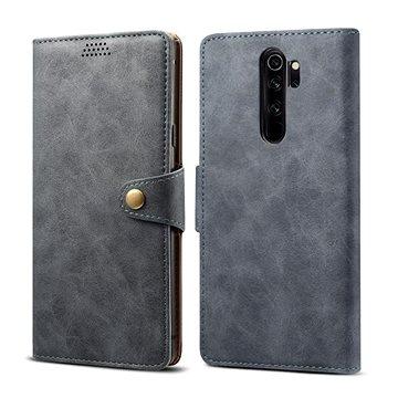 Lenuo Leather pro Xiaomi Redmi Note 8 Pro, šedá (470767)