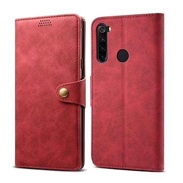 Lenuo Leather pro Xiaomi Redmi Note 8T, červená (470831)