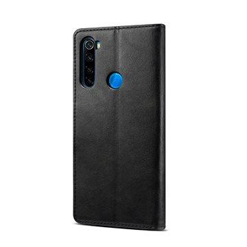 Lenuo Leather pro Xiaomi Redmi Note 8T, černá (470876)