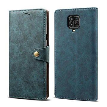Lenuo Leather pro Xiaomi Redmi Note 9 Pro/ Note 9S, modré (470919)