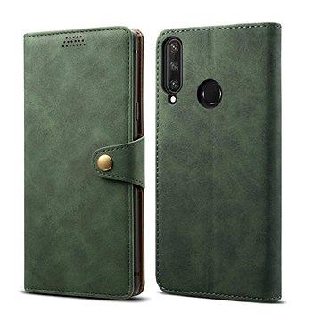 Lenuo Leather pro Huawei Y6p, zelená (470950)