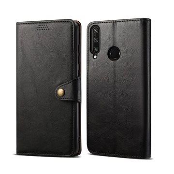 Lenuo Leather pro Huawei Y6p, černá (470951)