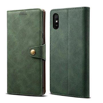 Lenuo Leather pro Xiaomi Redmi 9A, zelená (470992)