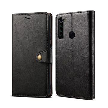 Lenuo Leather pro Xiaomi Redmi Note 8, černá (475111)