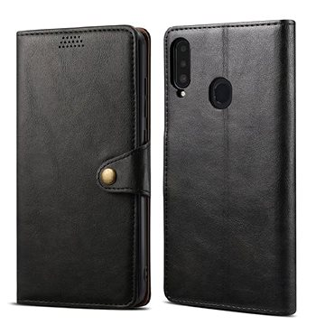 Lenuo Leather pro Samsung Galaxy A20s, černé (476127)