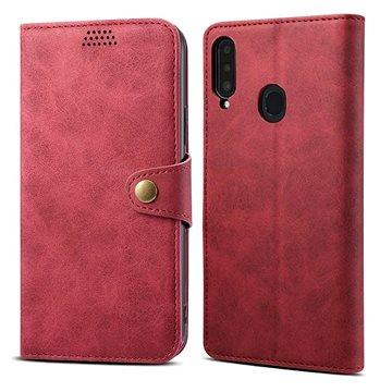 Lenuo Leather pro Samsung Galaxy A20s, červené (476128)