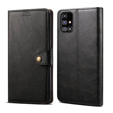 Lenuo Leather pro Samsung Galaxy M31s, černé (476133)