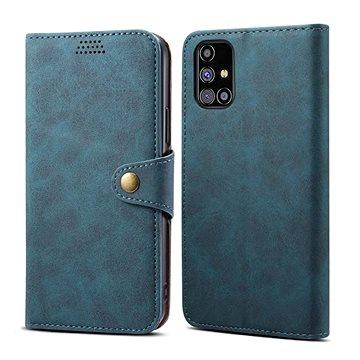 Lenuo Leather pro Samsung Galaxy M31s, modré (476134)