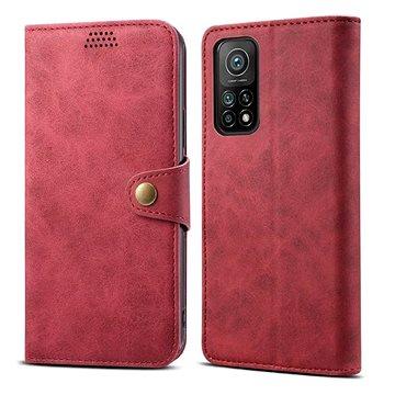 Lenuo Leather pro Xiaomi Mi 10T/10T Pro, červené (476141)