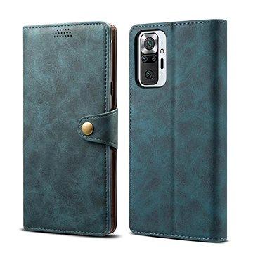 Lenuo Leather pro Xiaomi Redmi Note 10 Pro, modré (348008)