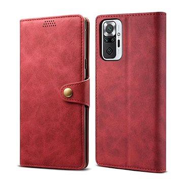 Lenuo Leather pro Xiaomi Redmi Note 10 Pro, červené (348006)