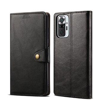 Lenuo Leather pro Xiaomi Redmi Note 10 Pro, černé (348007)