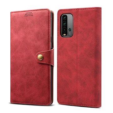 Lenuo Leather pro Xiaomi Redmi 9T, červené (476211)