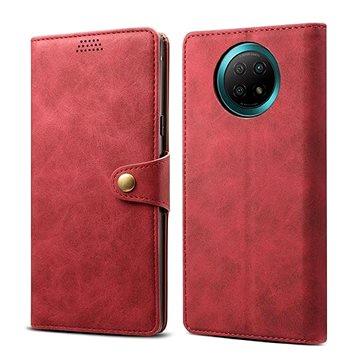 Lenuo Leather pro Xiaomi Redmi Note 9T, červené (476214)