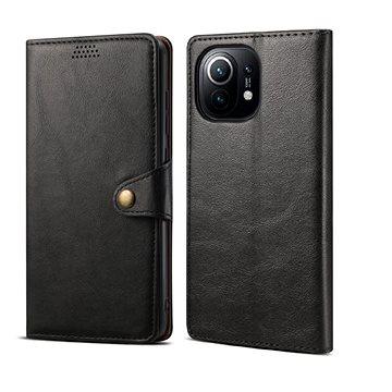 Lenuo Leather pro Xiaomi Mi 11, černé (476216)