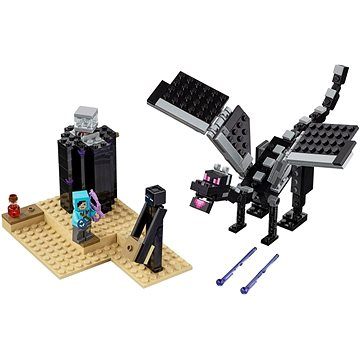 LEGO Minecraft 21151 Souboj ve světě End (5702016370898)