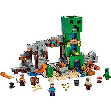 LEGO Minecraft 21155 Creepův důl (5702016370935)