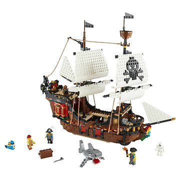 LEGO Creator 31109 Pirátská loď (5702016616354)