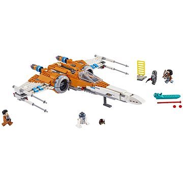LEGO Star Wars 75273 Stíhačka X-wing Poe Damerona (5702016617191)